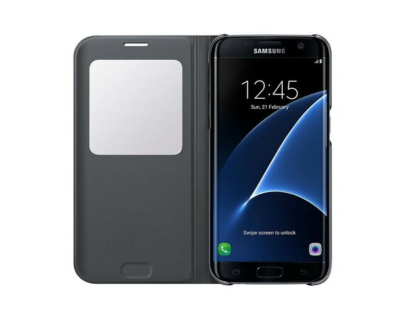 Samsung S View Cover Galaxy S7 Edge Black