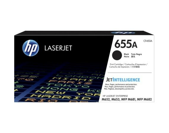 HP Inc. 655A Czarny Toner Cartridge CF450A