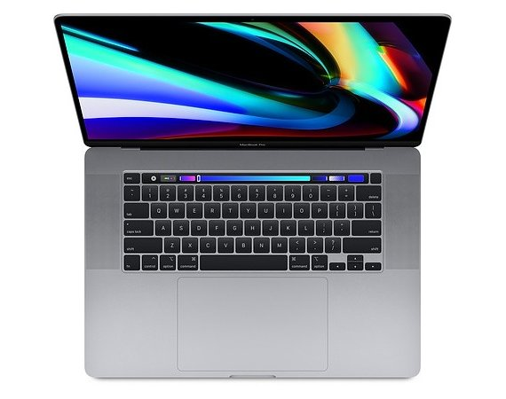 Apple MacBook Pro 16 Touch Bar: 2.6GHz i7/16GB/512GB/RP5300M - Space Grey