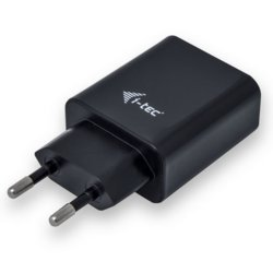 i-tec USB Power Charger 2 port 2.4A czarny 2x USB Port DC 5V/max 2.4A