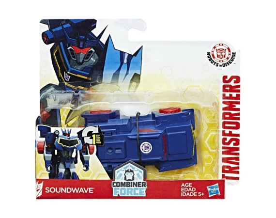 Figurka Transformers Robots in Disguise 1-Step Changer Soundwave