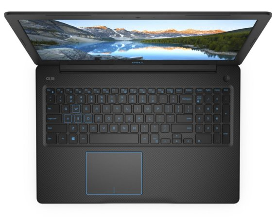 "Dell Laptop Inspiron G3 3779 Win10Home i5-8300H/128GB/1TB/8GB/GTX1050/17.3""FHD/56WHR/Black/1YPS+1YCAR"