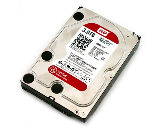 Western Digital WD Red Plus 3TB 3,5' CMR 64MB / 5400RPM Class