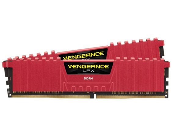 Corsair DDR4 Vengeance LPX 8GB/ 2400 (2*4GB) RED CL14-16-16-31