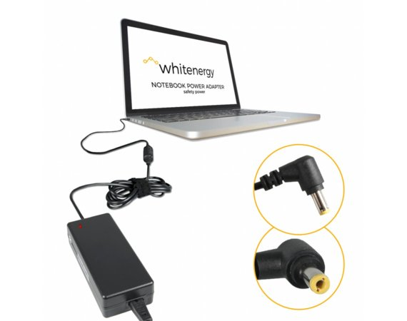 Whitenergy Zasilacz do laptopa 04082 19V, 6.3A, 120W, wtyk 5.5x2.5mm