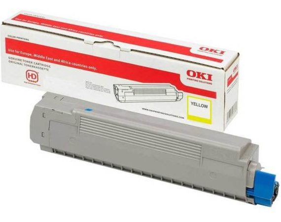 OKI Toner do C532/MC573 Yellow 1.5K 46490401