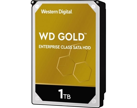 "Western Digital HDD Gold Enterprise 1TB 3,5"" 128MB SATAIII/7200rpm"