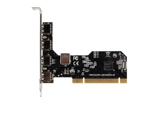 LANBERG Karta PCI - USB 2.0 5-Port