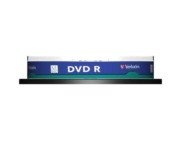 Verbatim M-DISC DVD R 4x 4.7 Gb (10 cake) printable