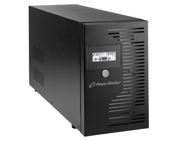 PowerWalker UPS LINE-INTERACTIVE 3000VA 4x PL 230V, RJ11/45     IN/OUT, USB, LCD