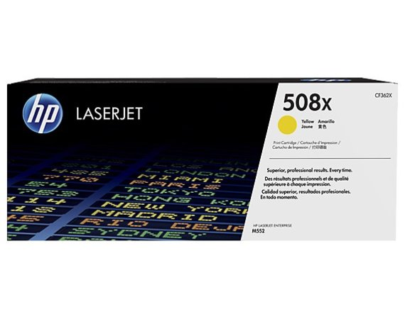 HP Inc. Toner 508X High Yield Yellow 9,5k CF362X