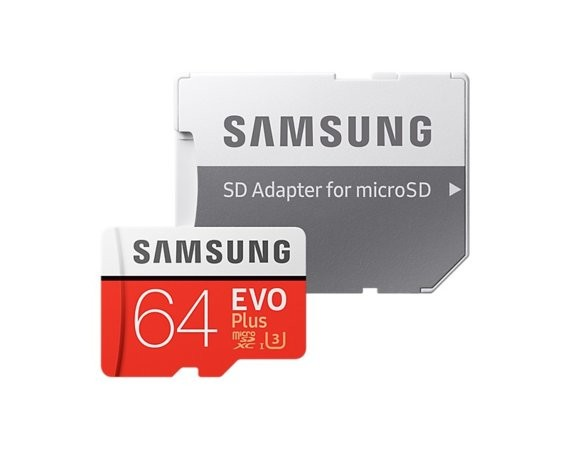 Samsung MB-MC64GA/EU EVO+ mSD +Adapter