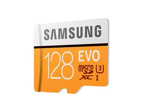 Samsung MB-MP128GA/EU 128GB EVO mSD +Adapter