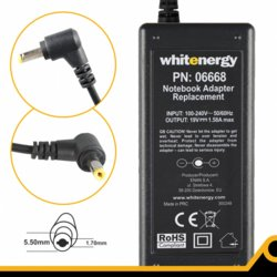 Whitenergy Zasilacz 19V | 1.58A 30W wtyk 5.5*1.7mm 06668