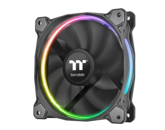 Thermaltake Wentylator Riing 14 RGB TT Premium Edition 3 Pack (3x140mm, LNC, 1400 RPM) Retail/BOX
