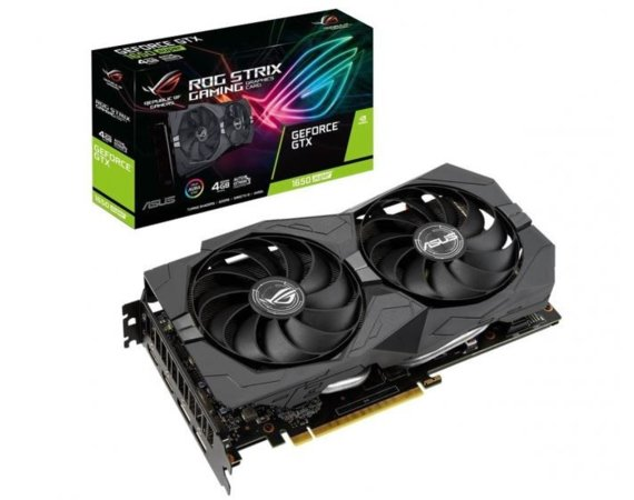 Asus Karta graficzna ROG STRIX GTX 1650SUPER A4G GAMING 4GB GDDR6 128BIT 2HDMI/2DP