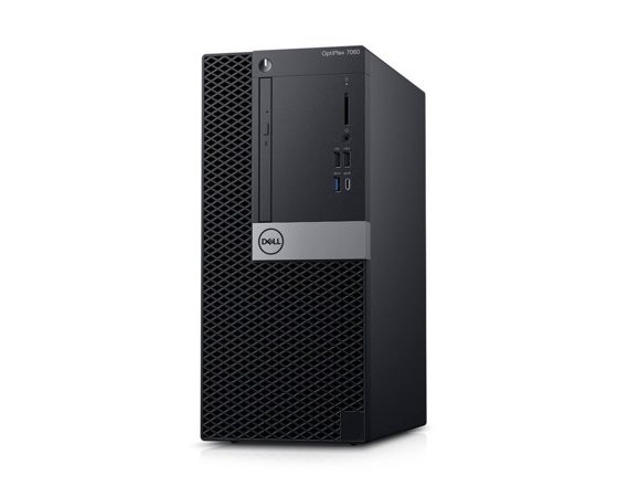 Dell Komputer Optiplex 7060MT W10Pro i5-8500/8GB/1TB/Intel UHD 630/DVD RW/KB216/MS116/260W/vPro/3Y NBD