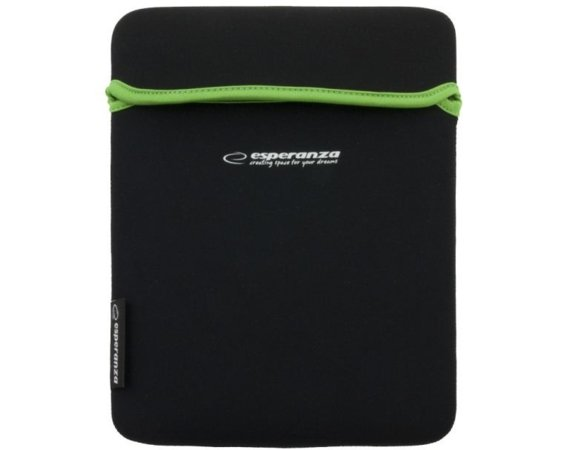 Esperanza ETUI NA TABLET 9,7 CALI BLACK/GREEN
