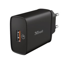 Trust Ładowarka Qmax 18W Ultra-Fast USB Wall Charger with QC3.0