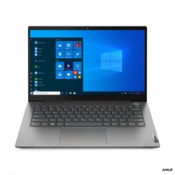 Lenovo Laptop ThinkBook 14 G2 20VF0009PB W10Pro 4500U/8GB/256GB/INT/14.0FHD/Mineral Grey/1YR CI