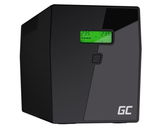 Green Cell Zasilacz awaryjny UPS 1500VA 900W Power Proof
