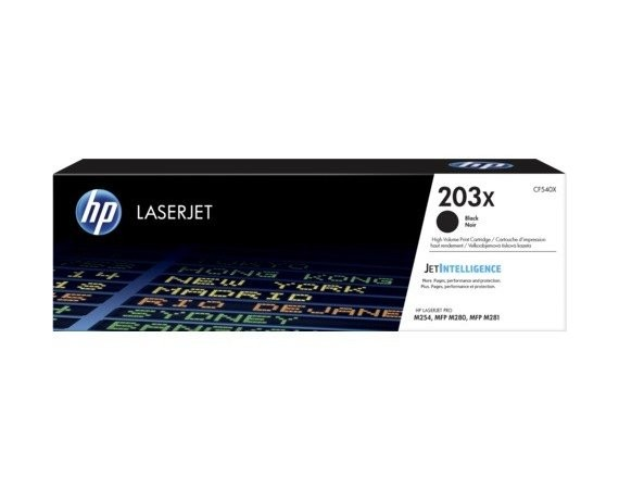 HP Inc. 203X Czarny Toner Cartridge CF540X