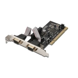 Digitus Karta rozszerzeń/Kontroler RS232 PCI, 2xDB9, Low Profile, Chipset: MCS9865