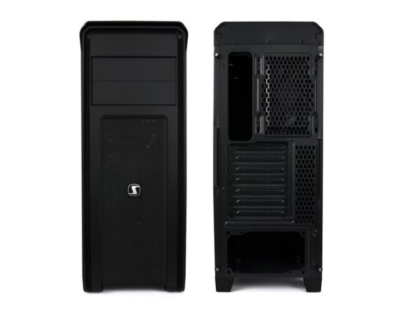 SilentiumPC Gladius M35 Pure Black USB3.0 ATX/SSD ready/2x 120 mm