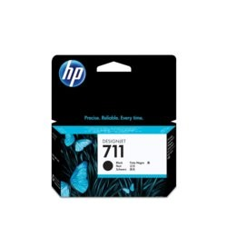 HP Inc. Tusz 711 38ml Black CZ129A