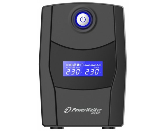 PowerWalker Zasilacz awaryjny UPS Line-Interactive 1000VA STL FR 2x PL 230V, USB, RJ11/45      In/Out