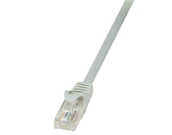 LogiLink Patch Cable CAT 5e UTP 15m, szary