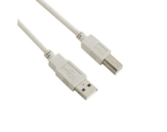 4world Kabel USB 2.0 | A-B M/M | 5m | szary