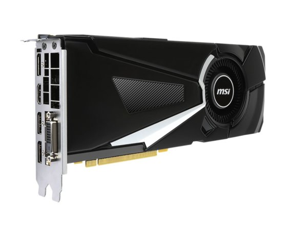MSI GeForce GTX 1070 Ti Aero 8GB DDR5 DVI-D/HDMI/3DP