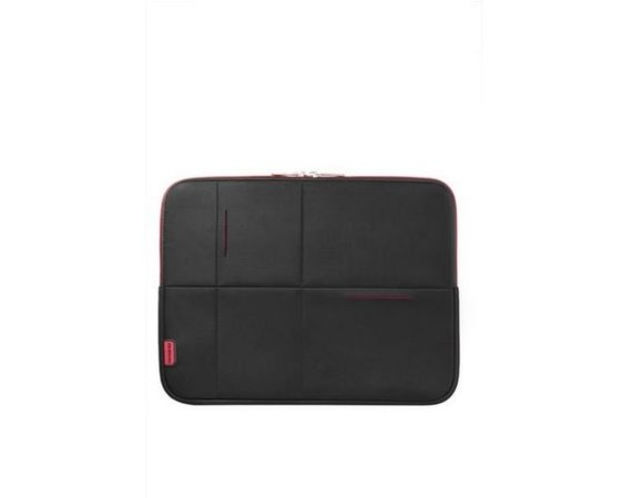 "Samsonite AIRGLOW SLEEVES LAPTOP SLEEVE 15.6"" CZARNY/CZERWONY"