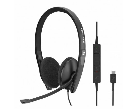 Sennheiser Communications Słuchawki SC 160 USB Skype for Business