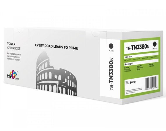 TB Print Toner do Brother TN3380 TB-TN3380N BK 100% nowy