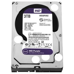 Western Digital HDD Purple 3TB 3,5'' 64MB SATAIII/5400rpm