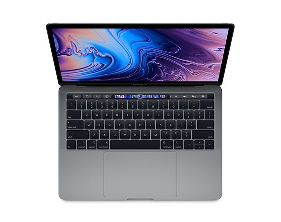 Apple MacBook Pro 13 Touch Bar. 2.8 GHzi7/16GB/512GB - Space Grey MV972ZE/A/P1/R1