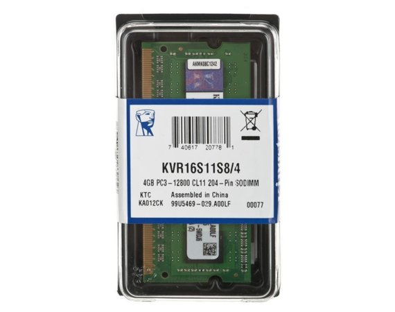 Kingston DDR3 SODIMM 4GB/1600 CL11