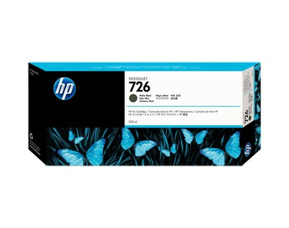HP Inc. Tusz HP 726 300 ml Matte Black CH575A