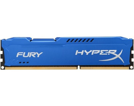 HyperX DDR3 Fury  8GB/ 1600 CL10