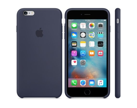 Apple iPhone 6s Plus Silicone Case Midnight Blue  MKXL2ZM/A