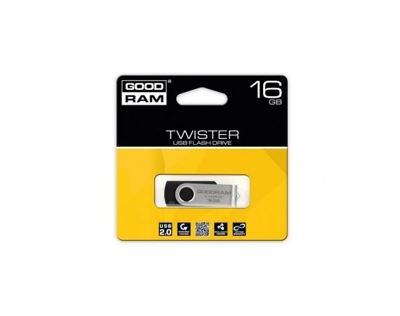 GOODRAM TWISTER 16GB Black USB2.0
