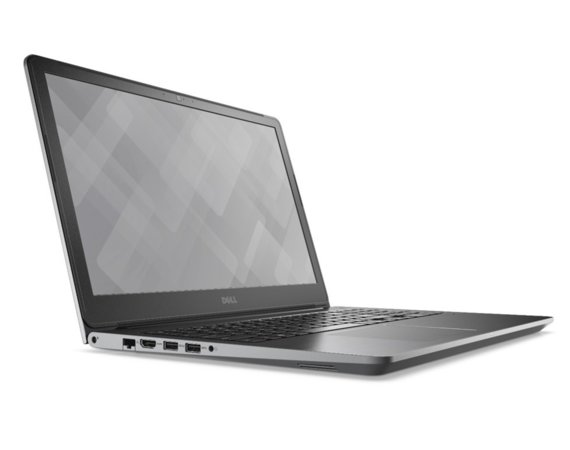 "Dell VOSTRO 15 5568 Win10Pro i7-7500U/256GB/8GB/GF940MX/15.6""FHD/3-cell/KB-Backlit/Grey/3Y NBD"