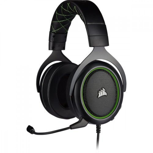 Corsair Zestaw słuchawkowy HS50 Pro Stereo Gaming Headset Green