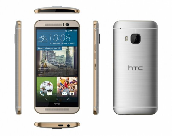 HTC One M9 Silver 99HADF124-00