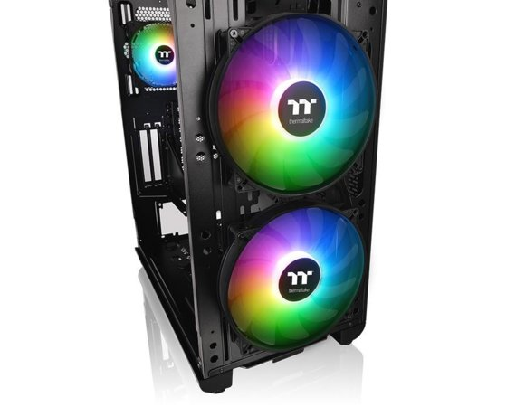 Thermaltake Obudowa View 37 ARGB Gull-Wing Glass E-ATX - czarna