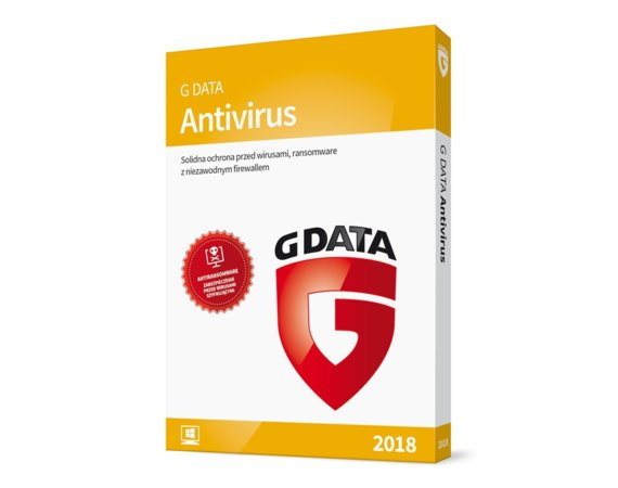 G DATA AntiVirus BOX 2PC 1ROK
