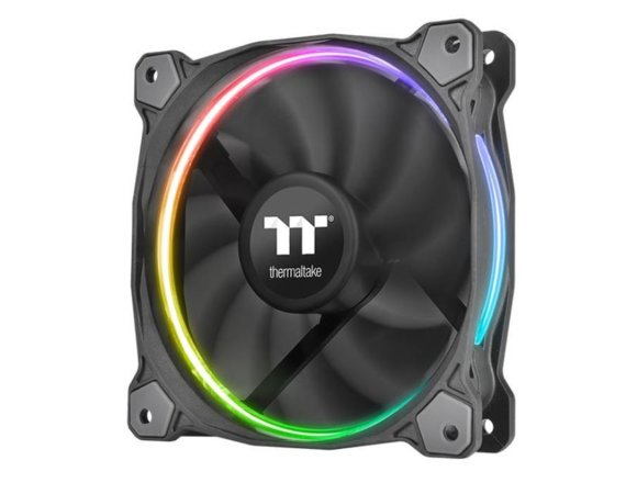 Thermaltake Wentylator - Riing 14 RGB TT Premium Edition 3 Pack (3x120mm, LNC1400 RPM) Retail/BOX