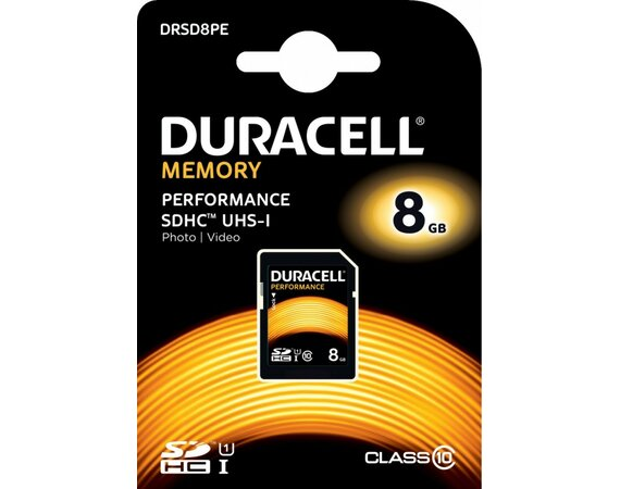 Duracell 8GB SDHC Class 10 UHS-1